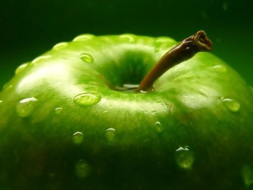 zielone-jablko