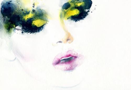 streszczenie-moda-akwarela-ilustracja-piekna-twarz-kobiety