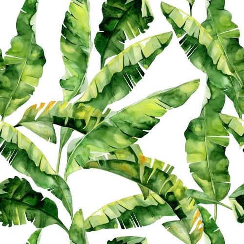 bezszwowa-akwareli-ilustracja-tropikalni-liscie-zwarta-dzungla-wzor-z-motywem-tropic-summertime-moze-byc-uzyty-jako-tekstu