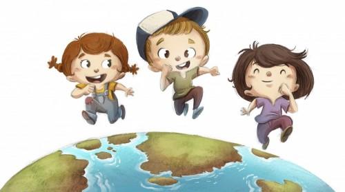 dzieci-biegajace-po-ziemi