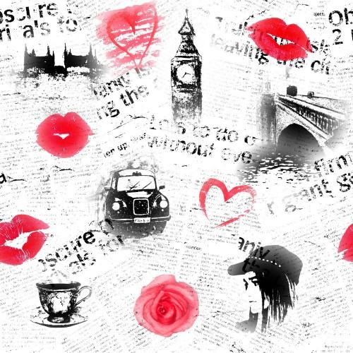 czarny-bialy-i-czerwony-londynski-tlo