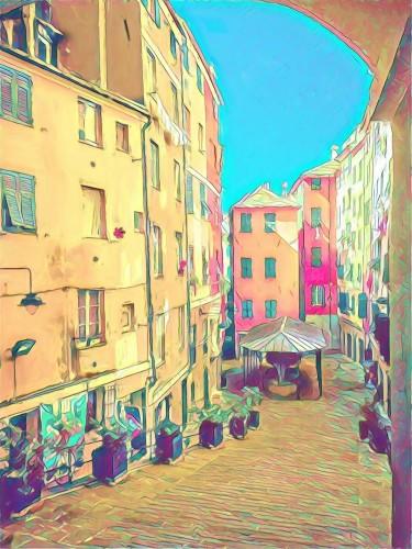 kolorowy-vintage-wloski-dziedziniec-duzy-obraz-olejny-obraz-olejny-nowoczesna-grafika-impresjonizmu-kreatywny-artystyczny-wyd