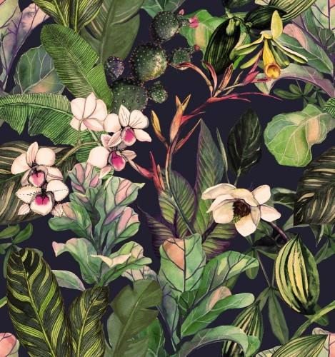 tropikalne-liscie-i-kwiaty-w-stylu-retro