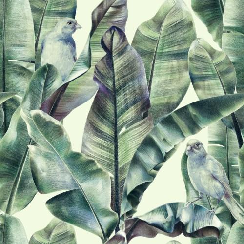 wzor-z-lisci-bananow-i-egzotycznych-ptakow-na-delikatnym-bezowym-tle-tropikalne-tlo-w-odcieniach-zieleni-na-tkaniny-tapety-tekstylia