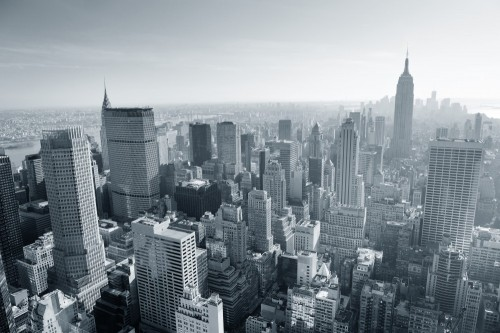 panorama-nowego-jorku-w-czerni-i-bieli