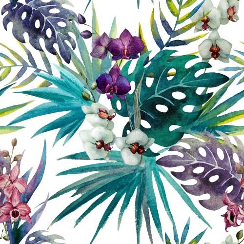 wzor-orchidei