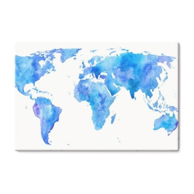 world-map-earth-watercolor-wyciagnac-reke-illustration-white-tle