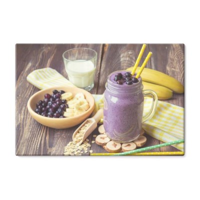 smoothie-blueberry-z-platkami-bananow-i-owsa