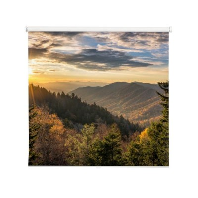 great-smoky-mountains-jesien-sunrise-tennessee