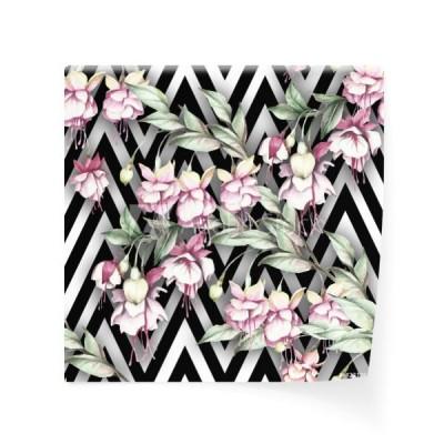 a67906e7ad3eba bezszwowy-wzor-z-akwarela-egzotycznymi-kwiatami-na-abstrakcjonistycznym-