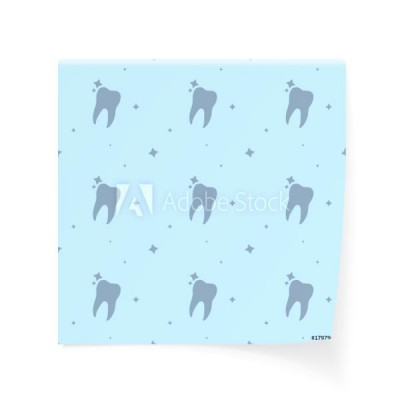 dentysta-care-molar-tooth-with-stars-seamless-silhouette-background