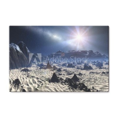 alien-planet-grafika-komputerowa-3d-rendered