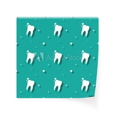 dentysta-molar-tooth-with-stars-seamless-pattern