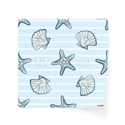 seashells-i-starfishes-seamless-pattern
